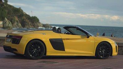Sommaire : Audi R8 Spyder, Harley, Coccinelle et 911 R ce dimanche 23 octobre 2016