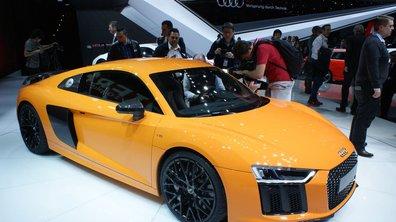 Salon de Genève 2015 : Audi R8, puissante et électrisante (+ vidéo)