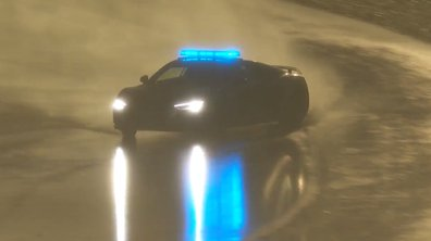 24H du Mans 2016 : la voiture de sécurité fait le show sous la pluie !