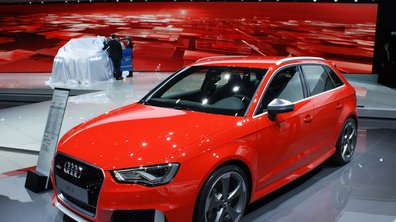 Salon de Genève 2015 : Audi RS 3 Sportback, la plus puissante sportive compacte