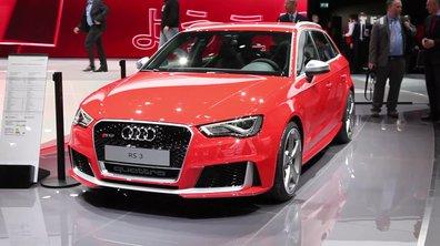 Audi RS 3 Sportback, la super-compacte sportive du Salon de Genève 2015