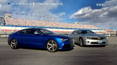 No Limit : Duel Audi RS 5 vs Chevrolet Camaro SS
