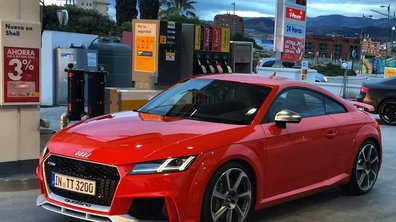 Scoop : La future Audi TT RS fait le plein !