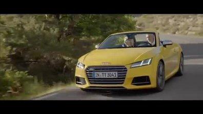 Audi TT S Roadster 2015 : présentation officielle