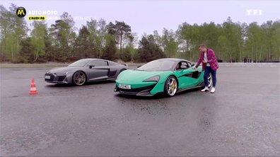 Audi R8 vs McLaren 600 LT : Le Verdict
