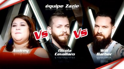 Audrey VS Nicola Cavallaro VS Will Barber - Epreuve Ultime (Saison 6)