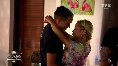Aurélie propose à Julien d'intégrer la « Villa de l'amour »