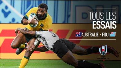 Australie - Fidji : Voir tous les essais du match en vidéo