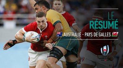 Australie - Pays de Galles : Voir le résumé du match en vidéo