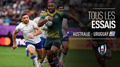 Australie - Uruguay : Voir tous les essais du match en vidéo