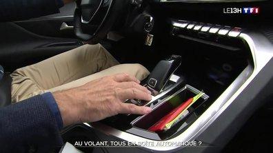 Automobile : les ventes de voitures automatiques dépassent désormais celles des manuelles
