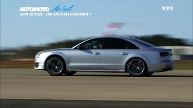 No Limit : Objectif 300 km/h en Audi S8 plus !