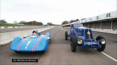 Trésors de Renault : les Etoile Filante et 40CV, voitures à records