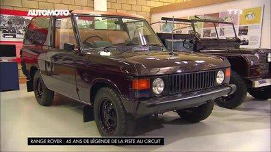 45 ans de Range Rover : des éditions très spéciales
