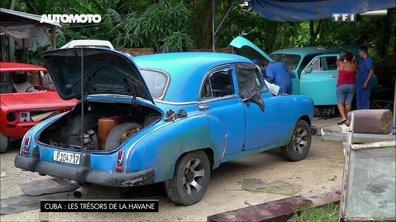 A Cuba, la réparation des voitures façon système D
