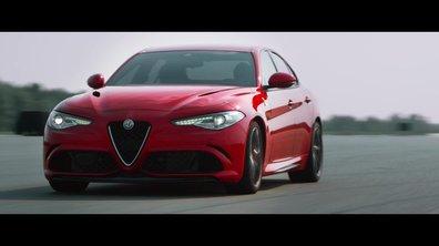 Alfa Romeo Giulia Quadrifloglio Verde 2016 : présentation officielle