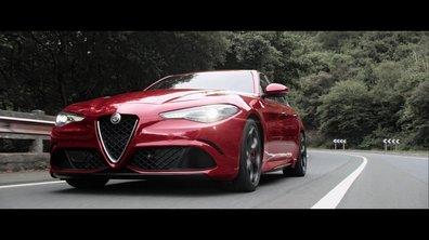 Alfa Romeo Giulia QV 2016 : présentation officielle