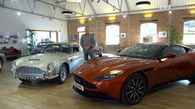 Teaser : Automoto chez Aston Martin avec la DB11