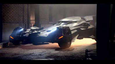 La Batmobile de Batman vs Superman se découvre