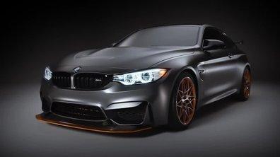 BMW M4 GTS Concept : présentation officielle