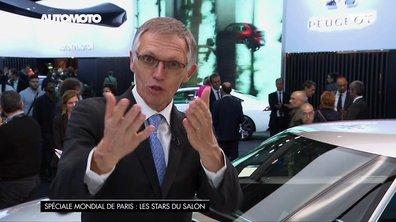 Mondial de l'Auto - Carlos Tavares lance un appel pour la Peugeot E-Legend