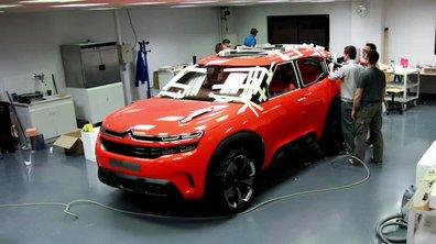 Citroën Aircross Concept 2015 : présentation officielle