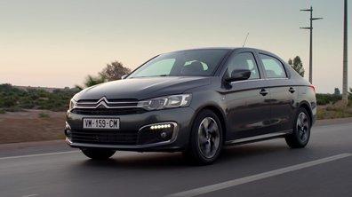 Citroën C-Elysée 2017 : présentation officielle