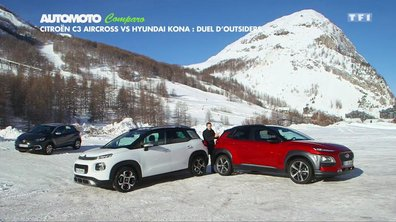 Comparo : Citroën C3 Aircross vs Hyundai Kona, duel d'outsiders