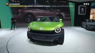 Salon de Genève - Concept Volkswagen ID Buggy: Quand les sixties s'électrisent