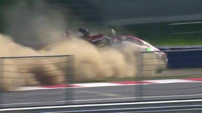 Crash impressionnant en GT4 au Red Bull Ring
