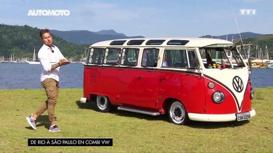 De Rio à São Paulo en Combi VW