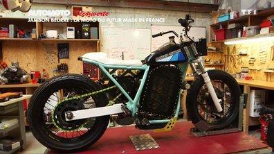 Découverte : Jambon-Beurre Motorcycle, la moto du futur made in France