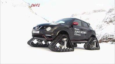Le Défi : Remonter une piste de ski avec un Nissan Juke
