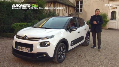 Essai Duel : La Citroën C3 2017 face à la Renault Clio