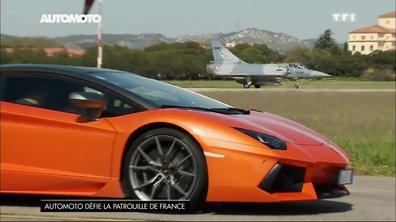 Duel Lamborghini Aventador contre Mirage 2000