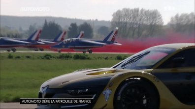 Duel Renault R.S. 01 contre Alpha Jet de la Patrouille de France