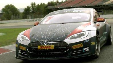 Electric GT : Présentation de la Tesla Model S P85D de course