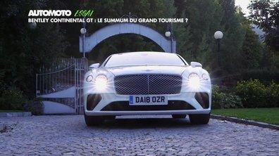 Essai - Bentley Continental GT : le summum du grand tourisme