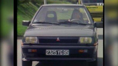 Essai de la Mitsubishi Colt Turbo – Automoto 21 juin 1986