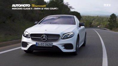 Essai Nouveauté : la Mercedes Classe E Coupé 2017