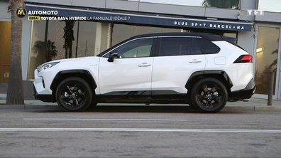 Essai - Toyota RAV4 Hybride, la familiale idéale ?