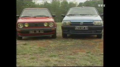 Essai Vidéo : Fiat Tipo vs Volkswagen Golf 1988