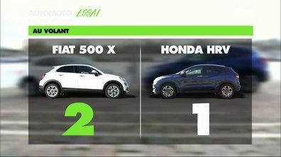 Essai Vidéo : Honda HR-V contre Fiat 500X, duel de SUVs citadins