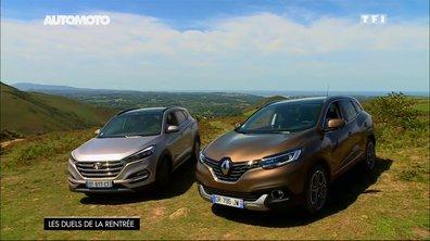 Essai Vidéo : Hyundai Tucson vs Renault Kadjar, quel crossover est le plus séduisant ? (1/2)