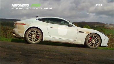 Essai Vidéo : La Jaguar F-Type R 4 roues motrices
