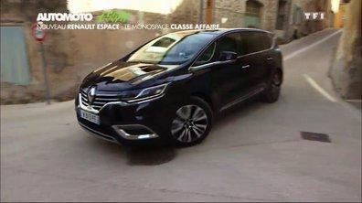 Essai Vidéo : le nouveau Renault Espace 2015