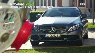 Essai Vidéo : La nouvelle Mercedes-Benz Classe C Coupé 2015