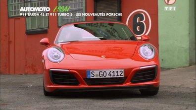 Essai Vidéo : les Porsche 911 Turbo S et Targa 4S 2016