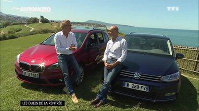 Essai Vidéo : Volkswagen Touran vs BMW Série 2 Gran Tourer, qui s'impose sur la route ? (2/2)