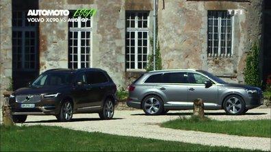 Essai Vidéo : Volvo XC90 vs Audi Q7, duel de SUVs de luxe